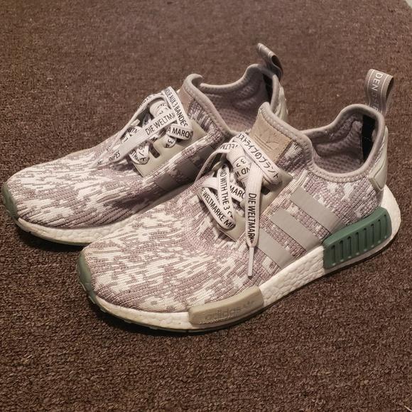 d0ae2e161ab49 adidas Shoes | Nmd R1 Camo Sesame Mens 55womens 75 | Poshmark
